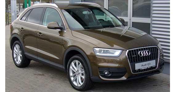 Audi Q3 car model