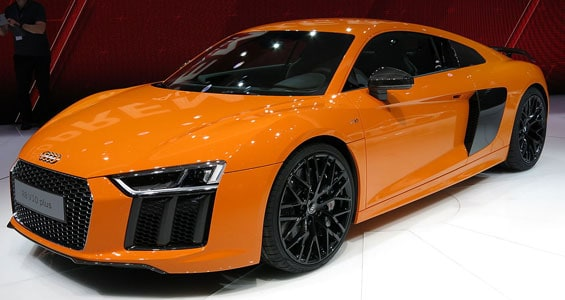 Audi R8 Coupe car model