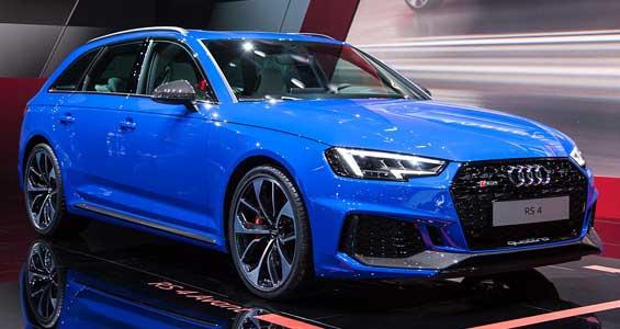 Audi RS4 car model