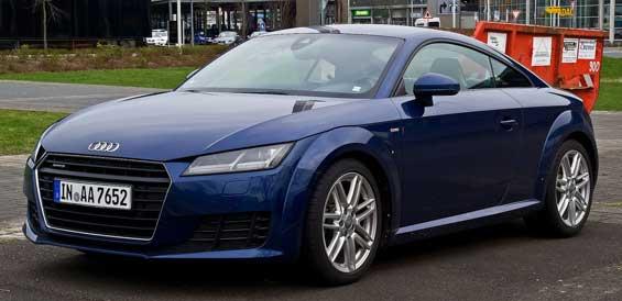Audi TT car model
