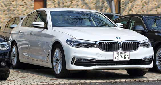 BMW 5 Series Sedan car model