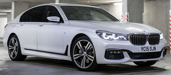 BMW 7 Series Sedan car model