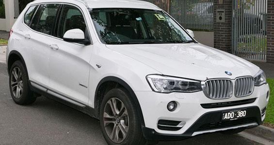 BMW X3 car model