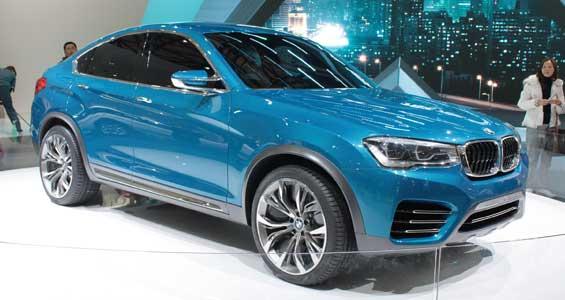 BMW X4 car model