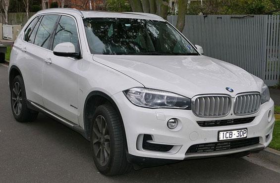 BMW X5 car model
