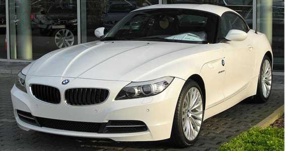 BMW Z4 Roadster car model