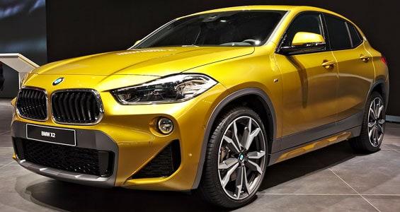 BMW x2 car model
