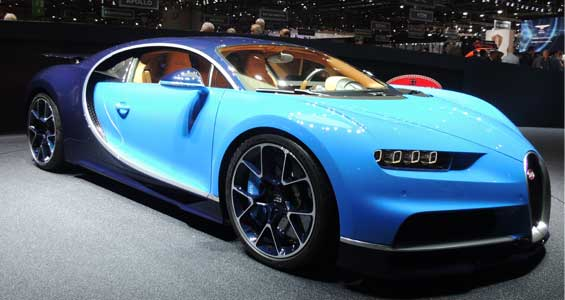 Bugatti Chiron car model