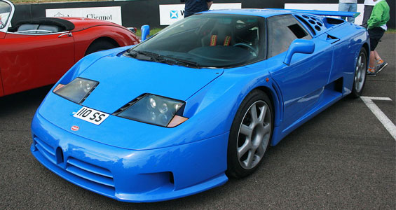 Bugatti EB 110 Car model