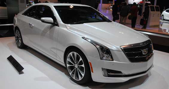 Cadillac ATS Coupe car model