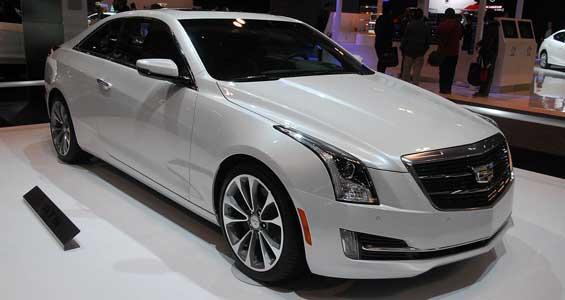 Cadillac ATS Coupe car model
