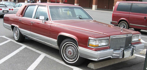 Cadillac Brougham Car Model