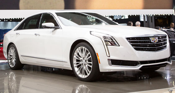 Cadillac CT6 Car Model