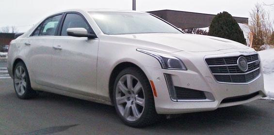 Cadillac CTS Car Model