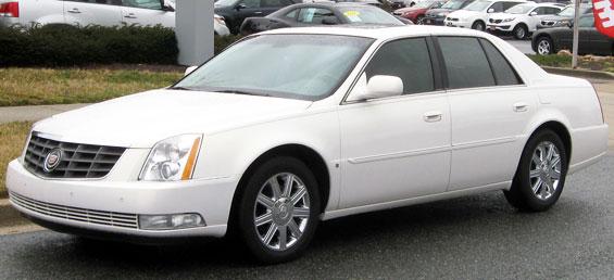 Cadillac DTS Car Model