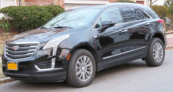 Cadillac XT5 Car Model