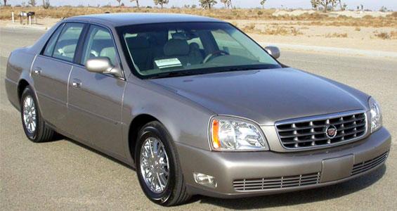 Cadillac de Ville Car Model