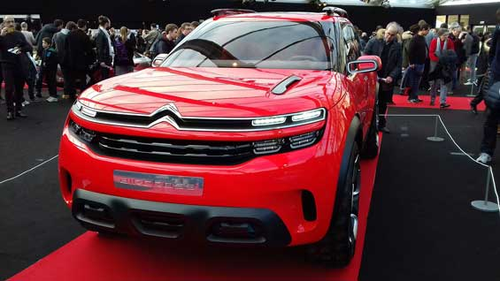 Citroen C5 Aircross car model