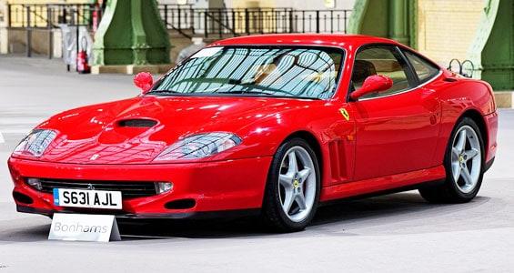 Ferrari 550 Car Model