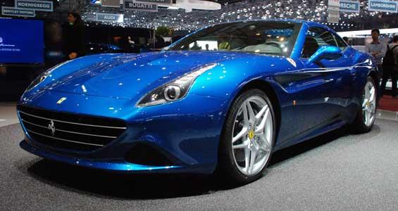 Ferrari California T car model