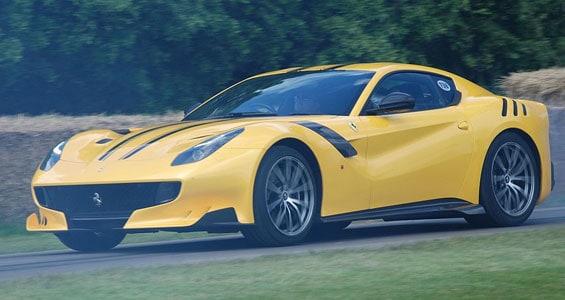 Ferrari F12tdf car model