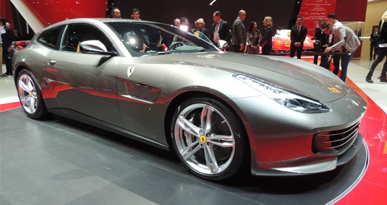 Ferrari GTC4Lusso car model