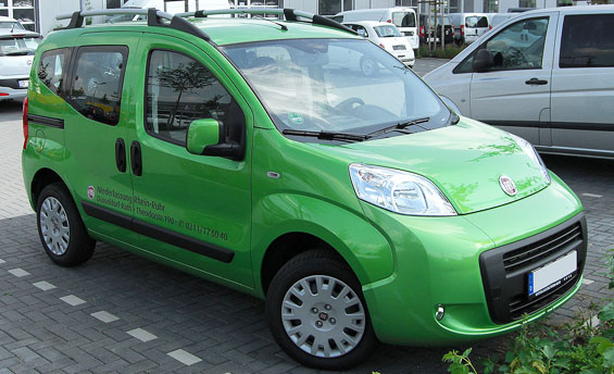 Fiat Qubo Car Model