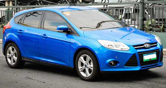 Ford Focus car model