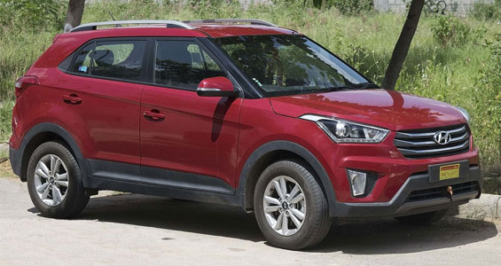 Hyundai Creta car model