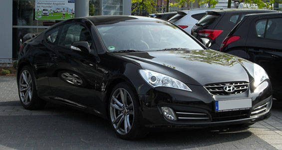 Hyundai Genesis Coupe car model