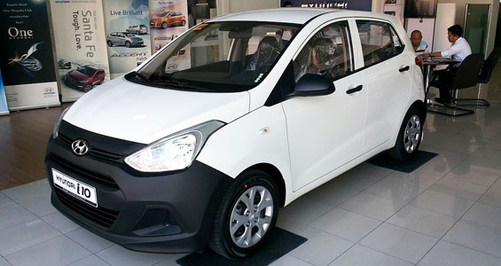 Hyundai Grand i10 car model