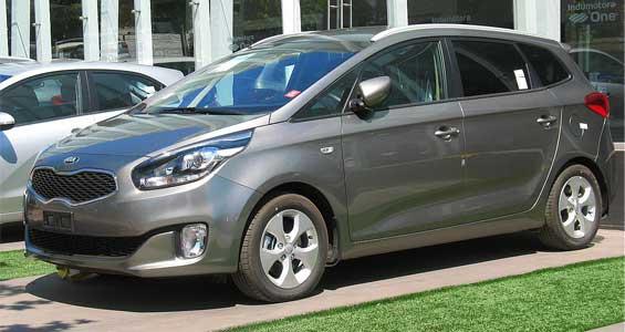 Kia Carens Car Model
