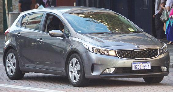 Kia Forte car model