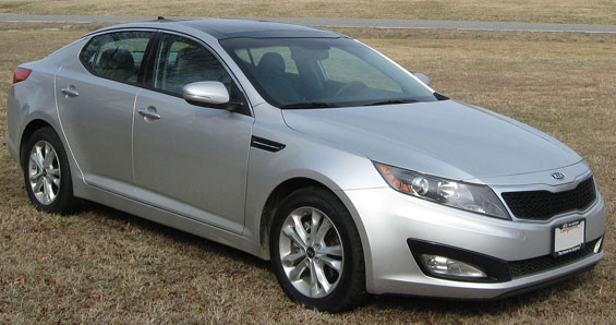Kia Optima car model
