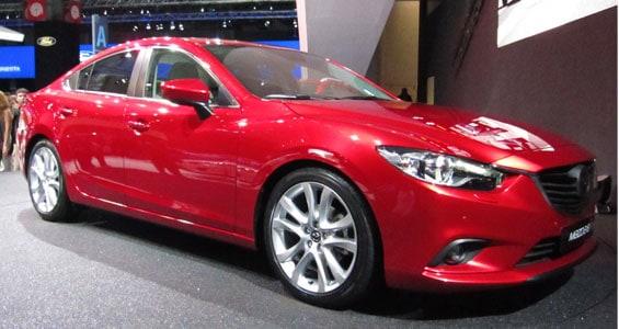 Mazda 6 car model
