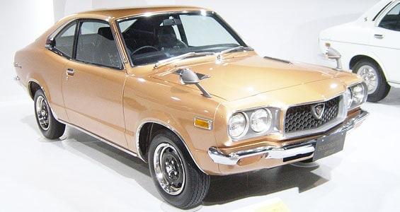 Mazda RX-3 car model