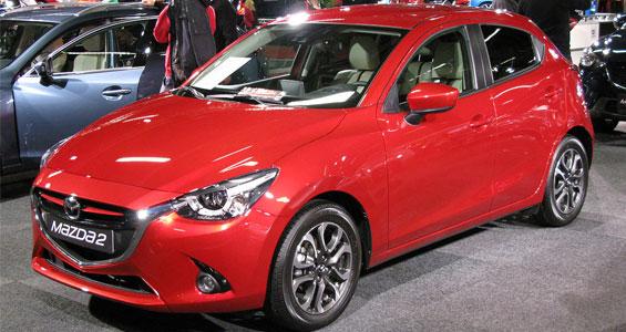 Mazda2 car model