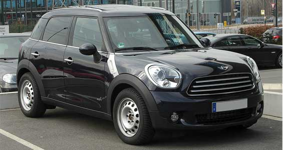 Mini Countryman car model