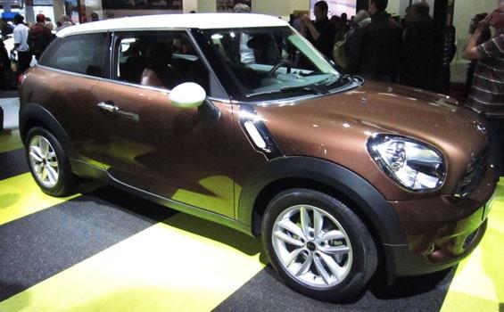 Mini Paceman car model