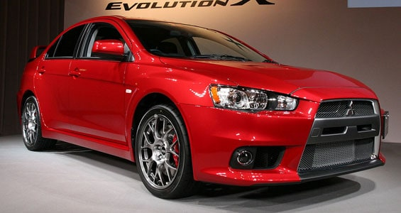 Mitsubishi Lancer Evolution car model
