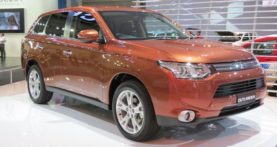 Mitsubishi Outlander car model