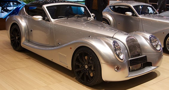 Morgan Aero SuperSports car model