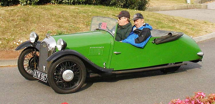 Morgan F4 Open Tourer