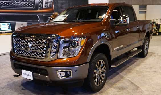 Nissan Titan XD car model