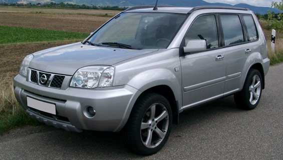 Nissan X-TRAIL car model