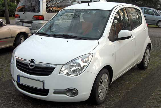 Opel Agila car model