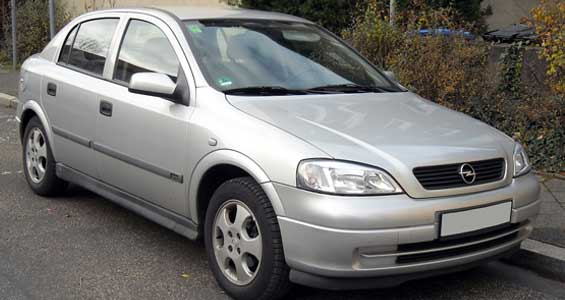 Opel Astra G car model