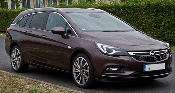 Opel Astra car model
