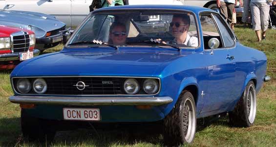 Opel Manta car model