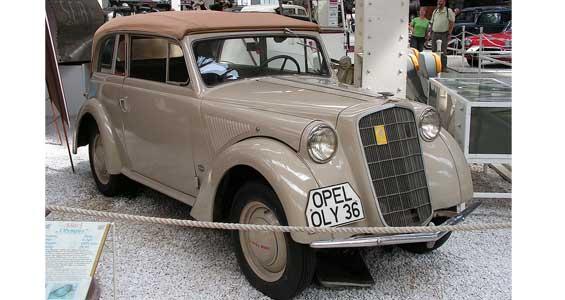 Opel Olympia car model